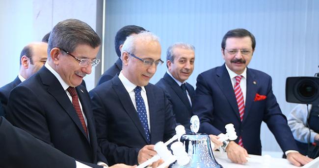 Başbakan Davutoğlu Konya'da konuştu: ürün ihtisas borsaları kurulacak