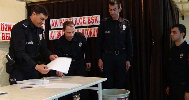 Konya'da eğitim gören polis adayları sigarayı bıraktı