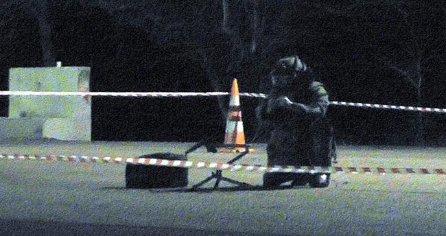 Konya'da yolcu otobüsünde bomba paniği