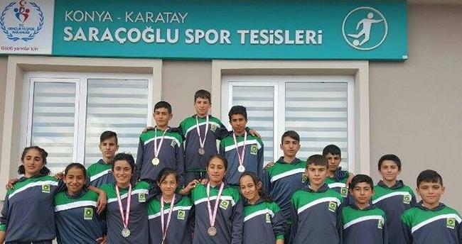 Konya'da atletizme Ereğli damgası