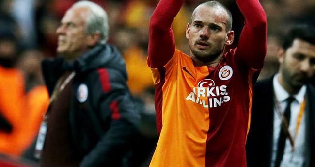 Wesley Sneijder'in Türk Bayrağı sevgisi