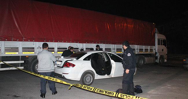 Konya'da otomobilde patlama: 2 yaralı
