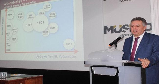 MÜSİAD Konya Şubesi'nde Cuma Konferansları Sürüyor