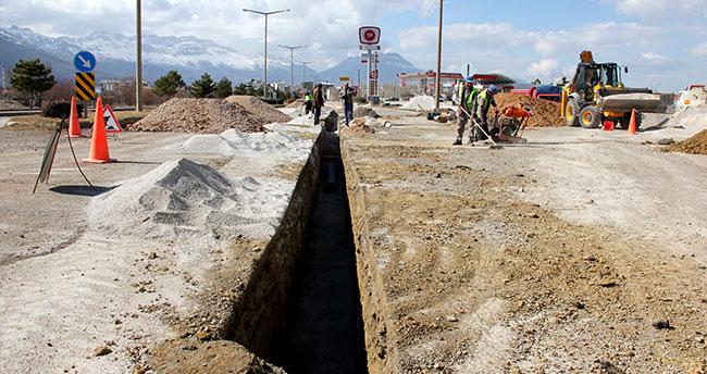 Seydişehir'de İçme Suyu Hattı yenileniyor