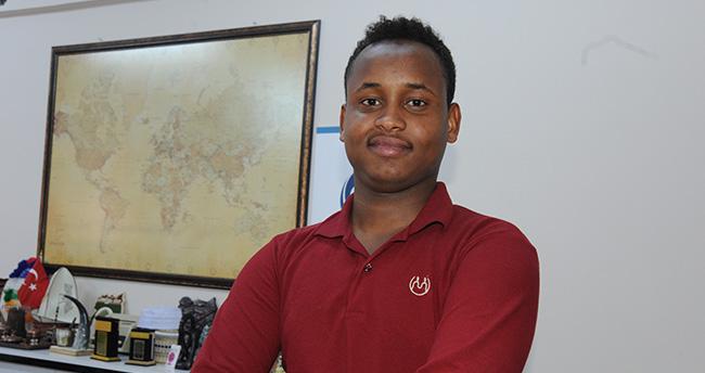 Erbakan gibi olmak için Cibuti'den Konya'ya geldi