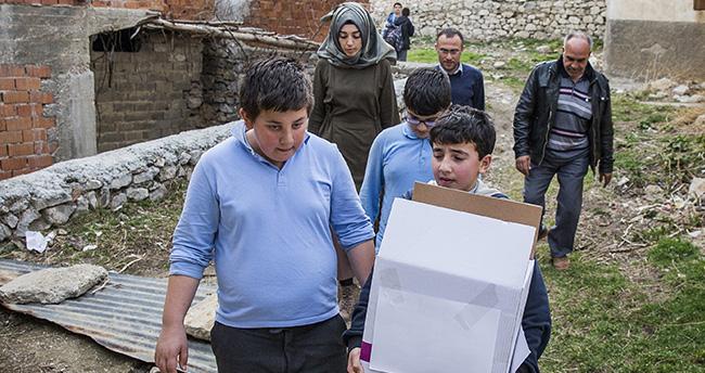 Kısa film Suriyeli sığınmacıların yüzünü güldürdü