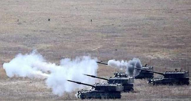 TSK IŞİD hedeflerini fırtına obüsleriyle vurdu!