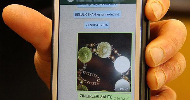 Sahte altın dolandırıcılarına 'WhatsApp'lı önlem
