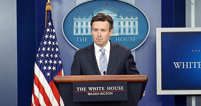 Beyaz Saray Sözcüsü Earnest: Suriye rejiminin sivillere saldırmasından endişe duyuyoruz