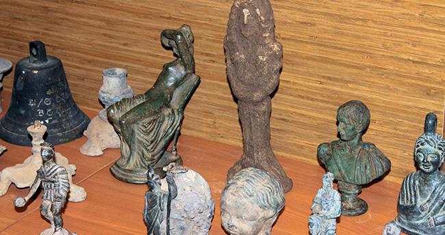 Konya'da 2 bin 655 tarihi eser ele geçirildi