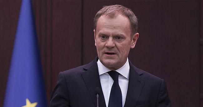 AB Konseyi Başkanı Tusk: Önemli olan AB'ye yasa dışı göç akınını azaltmak