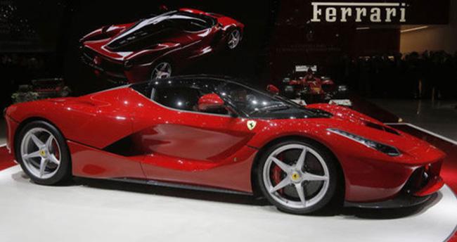 Ferrari satışı Türkiye'de rekor kırdı