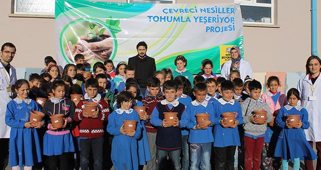 Konya'da çevreci nesiller yetişiyro