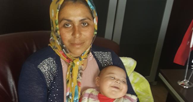 Konya'da sürekli ağlayan bebek artık gülecek