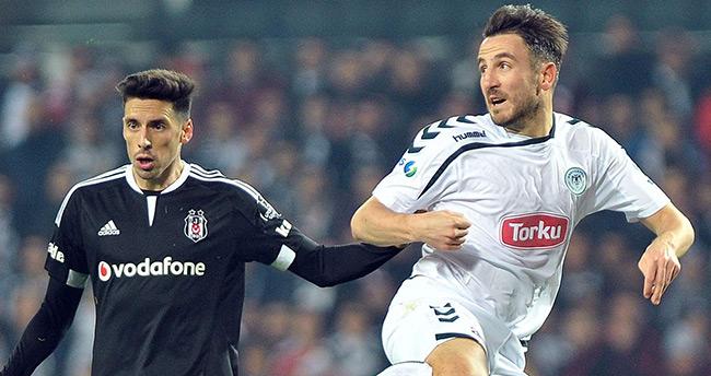 Torku Konyaspor ile Beşiktaş 35. kez