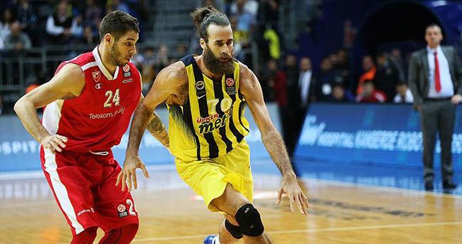 Fenerbahçe Kızılyıldız'ı Datome'nin skorer oyunuyla geçti
