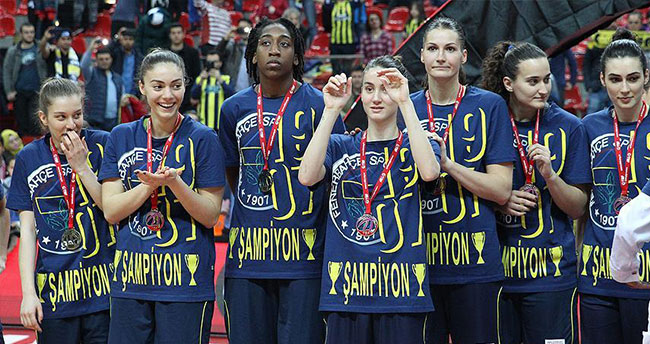 Basketbolda kupa Fenerbahçe'nin