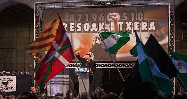Otegi, Bask bölgesindeki ayrılıkçı siyasi hareketin liderliğine soyundu
