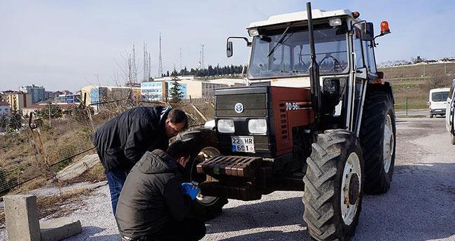 Radar cihazına traktörle zarar veren kişiye dava açıldı