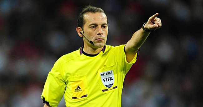 Cüneyt Çakır, UEFA Avrupa Ligi'nde kritik maçı yönetecek
