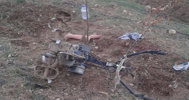Konya'da ayağını çapa makinesine kaptıran şahıs öldü