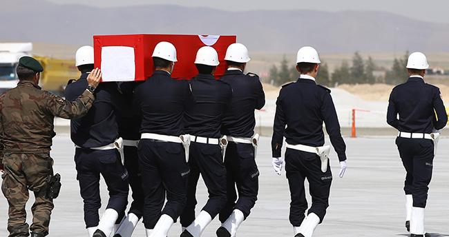 Şehit Hakan Yılmaz'ın cenazesi Konya'ya getirildi