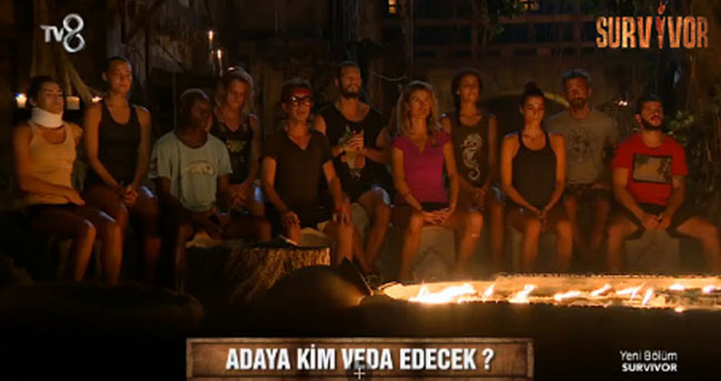 Survivor'da kim elendi? Survivor'da adaya kim veda etti?