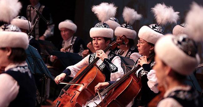 'Kazakistan ve Türkiye Dostluk Konseri' düzenlendi