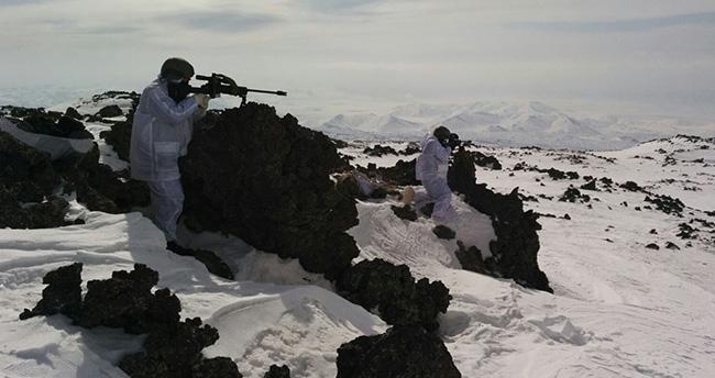 Tendürek Dağı'nda bülücü terör örgütüne büyük darbe