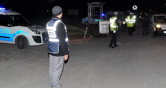 Aksaray'da yollar ablukaya alındı
