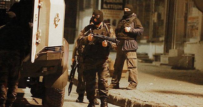 Ceylanpınar'da 10 terörist yakalandı