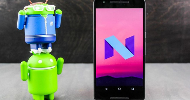 Google Android N güncellemelerine başladı!