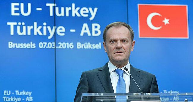 AB Konseyi Başkanı Tusk'tan zirve öncesi açıklama