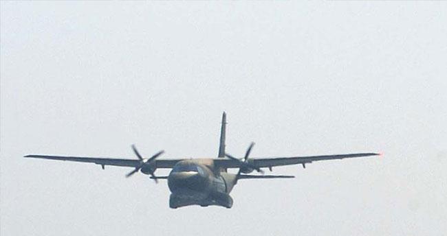 Irak'ta askeri gözlem uçağı düştü