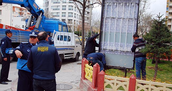 Konya'da görsel kirlilik önleniyor