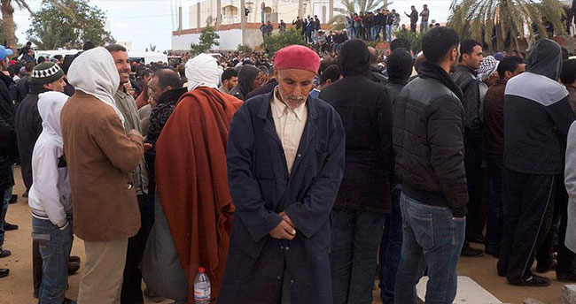 Libya'da halkı savaştan kurtarma ve şehri yeniden inşa etme çağrısı
