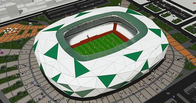 Konya stadyumu Uluslararası Arena'da yarışacak