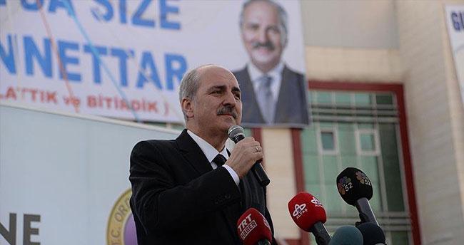 Başbakan Yardımcısı Kurtulmuş: Terörle mücadele verilirken bütün partiler yan yana durmalı