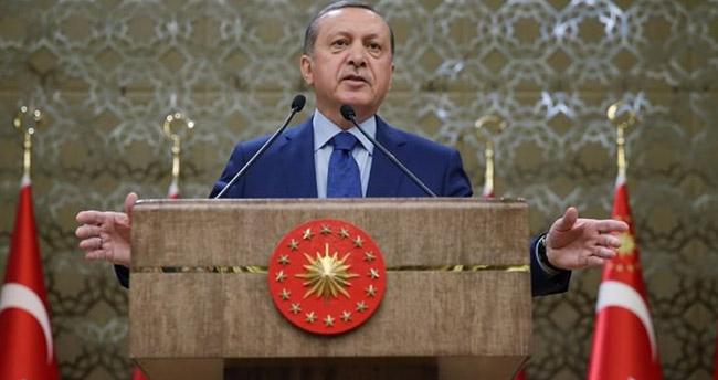 Erdoğan'ın programında dikkat çeken ayrıntı