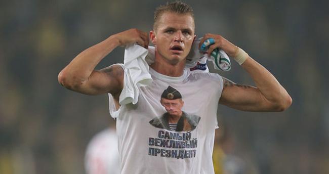 Putin tişörtüne 5 bin euro ceza