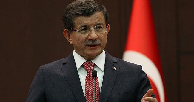 Başbakan Davutoğlu'ndan İran ve İsrail'e taziye mesajı