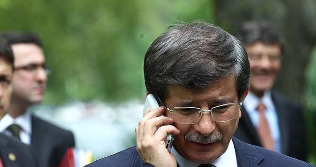 Davutoğlu, İçişleri Bakanı Ala'dan bilgi aldı