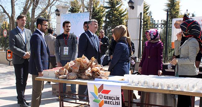 Konya'da gençler ecdadını unutmadı