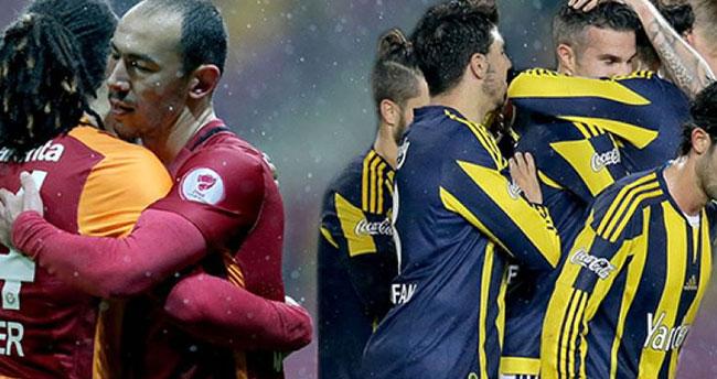 Galatasaray Fenerbahçe derbisi muhtemel 11'ler