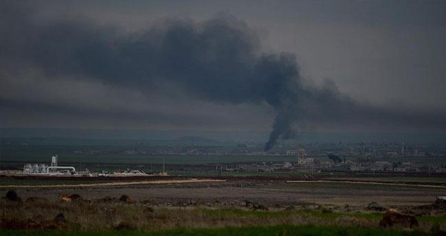 Azez'de DAEŞ ile muhalifler arasındaki çatışma devam ediyor