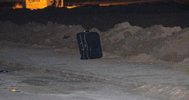 Konya'da şüpheli valiz polisi alarma geçirdi