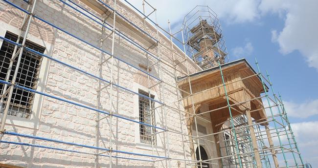 Konya'daki Alaaddin Camiisi restore ediliyor
