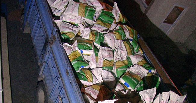 Konya'da mısır tohumu çaldığı iddia edilen hırsızlar yakalandı