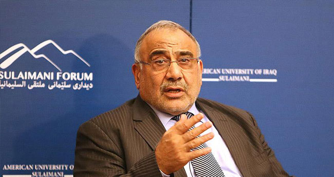 Irak Petrol Bakanı Abdülmehdi istifa etti