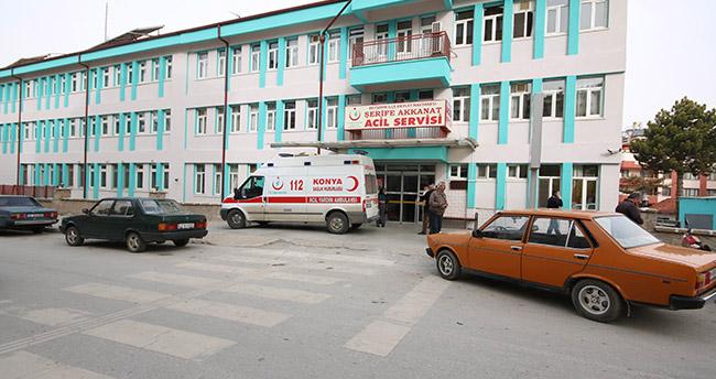Konya'da 10 kişi karbonmonoksit gazından hastaneye kaldırıldı